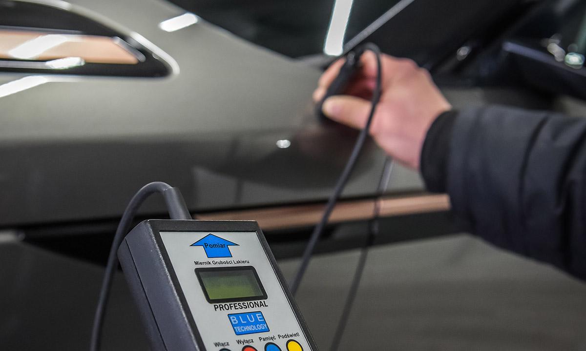 Kontrola powłoki lakierniczej w pojazdach używanych i nowych